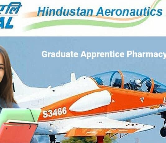HAL Graduate Apprentice Pharmacy Vacancy - Hindustan Aeronautics Limited