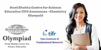 Homi Bhabha Centre for Science Education TIFR Announces - Chemistry Project Scientific Assistant Post