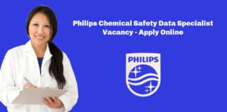 Philips Chemical Safety Data Specialist Vacancy - Apply Online