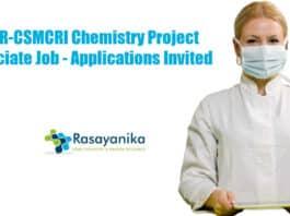CSIR-CSMCRI Chemistry Project