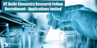 IIT Delhi Chemistry Research