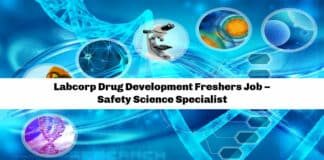 Labcorp Drug Development Freshers Job – Safety Science Specialist