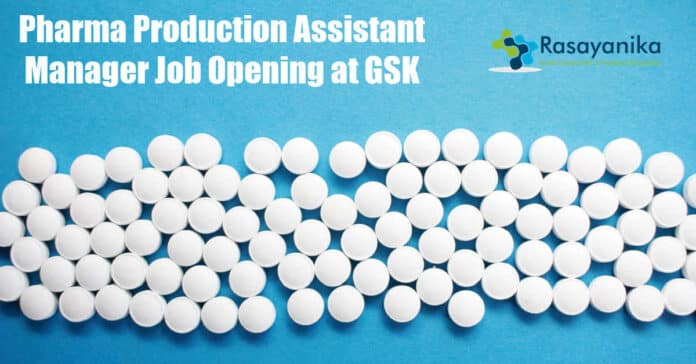 Pharma Production Assistant