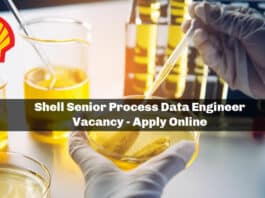 Shell Senior Process Data Engineer Vacancy - Apply Online
