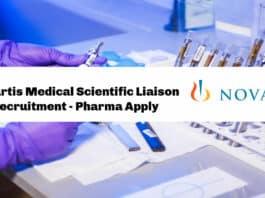 Novartis Medical Scientific Liaison Recruitment - Pharma Apply