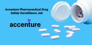Accenture Pharmaceutical Drug Safety Surveillance Job Vacancy 2021
