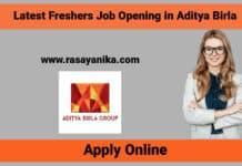 Aditya Birla Freshers Job