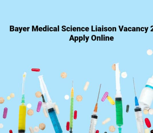 Bayer Medical Science Liaison Vacancy 2021 - Apply Online
