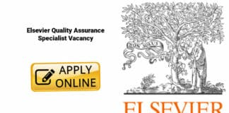 Elsevier Quality Assurance Specialist Vacancy - Apply Online