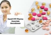 Sanofi FFP Pharma Associate Recruitment 2021- Apply Online