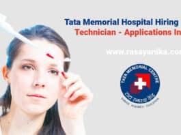 Tata Memorial Hospital Hiring Pharma Technician - Applications Invited
