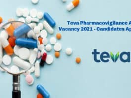 Teva Pharmacovigilance Auditor Vacancy 2021 - Candidates Apply Online