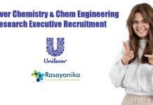 Unilever Chemistry & Chem